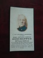 Rosa Deschepper - Maes Geboren Te Oostende 1853 En Overleden Te Brugge 1927   (2scans) - Religione & Esoterismo