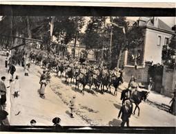 Rare Photo Format 9 X 12 Cm Défilé De La Cavalerie - 1914-18