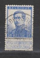 COB 125 Oblitération Centrale BRUXELLES 3B - 1912 Pellens