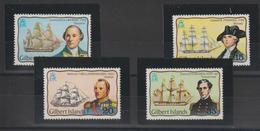 Ile Gilbert 1977 Bateaux Et Explorateurs 44-47 4 Val ** MNH - Timbres