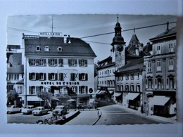 SUISSE - FRIBOURG - BULLE - Hôtel Union - 1963 - FR Fribourg