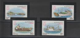 Kiribati 1984 Bateaux 118-121 4 Val ** MNH - Kiribati (1979-...)