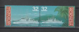 Micronésie 1996 Bateaux 417-418 2 Val ** MNH - Micronesia