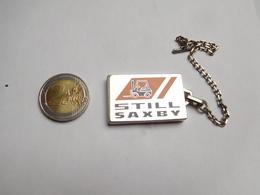 Beau Porte Clés Neuf , Matériel De Manutention , Chariot élévateur Still Saxby - Porte-clefs