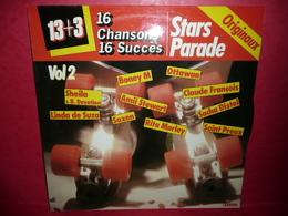 LP33 N°35 - 16 CHANSONS 16 SUCCES - ORIGINAUX - 13+3 STARS PARADE - VOL.2 - COMPILATION 13 TITRES - Compilations