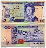 BELIZE       2 Dollars       P-66e       1.11.2014       UNC - Belize