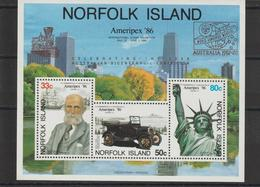 Norfolk 1986 Ameripex 86 BF 10 ** MNH - Ile Norfolk
