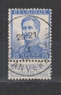 COB 125 Oblitération Centrale ANTWERPEN 10E - 1912 Pellens