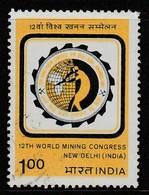 India 1984 The 12th World Mining Congress, New Delhi 1.00R Multicoloured SW 1009 O Used - Inde