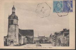 """LA COUYERE """"35"""" __  LE BOURG ET L'EGLISE - France"""