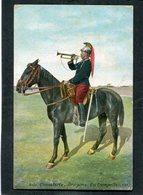 CPA - Cavalerie - Dragons - Trompette à Cheval - Reggimenti