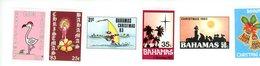 Bahamas 1983-Père Noel ,cloche,flamant YT 547/52***MNH - Flamants