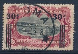"""BELGISCH-KONGO - OBP Nr 89 - Cachet """"KINSHASA"""" - (ref. 80) - Congo Belge"""
