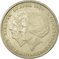 Monnaie, Pays-Bas, Beatrix, Gulden, 1980, TB+, Nickel, KM:200 - [ 3] 1815-… : Kingdom Of The Netherlands