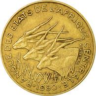Monnaie, États De L'Afrique Centrale, 10 Francs, 1980, Paris, TTB - Cameroun