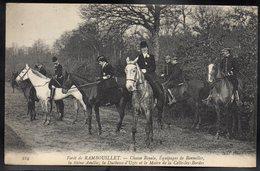 RAMBOUILLET 78 - Chase Royale - Equipage De Bonnelles - La Reine Amélie, La Duchesse D'Uzès Et Le Maire... - #B646 - Rambouillet