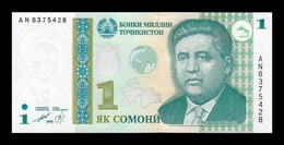 Tajikistan 1 Somoni 1999 (2010) Pick 14A SC UNC - Tadzjikistan