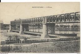Cpa Montataire, L'écluse - Montataire