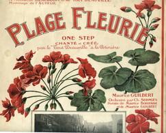 """Deauville - Plage Fleurie - One Step Chanté Et Créé Par Le """"Tout Deauville"""" à La Potinère - Maurice Beaudoin - 9 Pages - Normandie"""