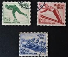 1935 Olympische Winterspiele In Garmisch-Partenkirchen Mi. 600-602 - Alemania