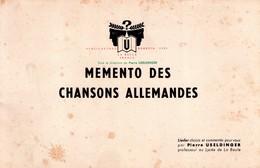 Rare Memento Des Chansons Allemandes Par Pierre Useldinger (prof Au Lycée De La Baule), 1965 Joliment Illustré - Livres, BD, Revues