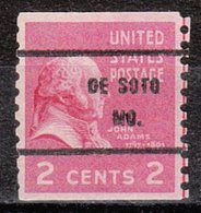 USA Precancel Vorausentwertung Preo, Bureau Missouri, De Soto 841-61 - Vereinigte Staaten