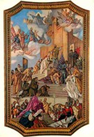 Art - Peinture Religieuse - Cagliari - Cattedrale - Voute Centrale - Histoire De La Loi En Sardègne - Voir Scans Recto-V - Tableaux, Vitraux Et Statues