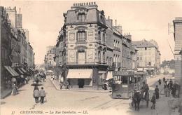 ¤¤  -   CHERBOURG  -  La Rue Gambetta   -   Tramway    -   ¤¤ - Cherbourg