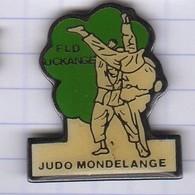 PINS VILLE 57 MONDELANGE  JUDO   FLD UCKANGE - Judo
