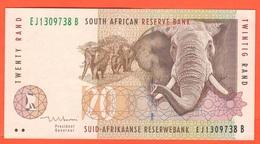 20 Rand Sud Africa South Africa Twintig Rand - Sudafrica