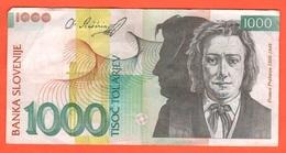 1000 Talleri Tolarjev 2005 Slovenia Slovenje - Eslovenia