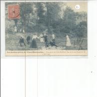 75-PARIS LES JARDINS PRIVES DU VIEUX MONTMARTRE UNE PARTIE DE COLIN MAILLARD - Distretto: 18