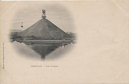 X122390 MEURTHE ET MOSELLE JARVILLE ENVIRONS NANCY SCORIES PRECURSEUR AVANT 1904  CRASSIER MINE MINEUR MINEURS CHARBON - Francia