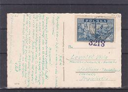 Pologne- Carte Postale De 1946 - Exp Vers Ljublijana - - Cartas