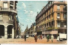 54  NANCY    La Rue Saint Jean  Cpa Colorisée Voyagée En 1930  Editions Daniel Delboy De Mirecourt - Nancy