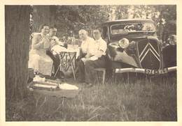"""PHOTO ORIGINALE FRANCE 77 """"Trilport, Citroen Traction Automobile, 1951"""" - Places"""