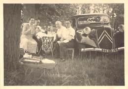 "PHOTO ORIGINALE FRANCE 77 ""Trilport, Citroen Traction Automobile, 1951"" - Plaatsen"