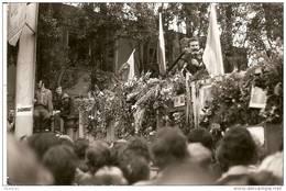 Photo, De Lech Wałęsa Au Cours D'un Meeting Du Syndicat Solidarność, Gdansk - Syndicats