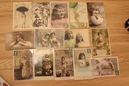 Lot De 70 Cartes Fantaisies - 5 - 99 Postcards