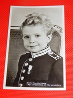 SWEDEN - SUEDE - Kronprins Carl Gustav  - Prince Héritier Carl Gustav , Fils De La Princesse Sibylle De Suède - Königshäuser