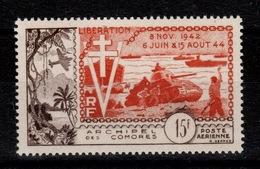 Comores - YV PA 4 N** Anniversaire De La Liberation Cote 40+ Euros - Airmail