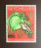 Seychelles 1968 First Landing Black Parrot Birds MNH - Birds