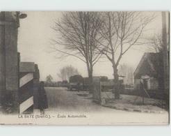 78 LA BATE (LONGVILLIERS) ... Lot De 4 Cartes De L'Ecole Automobile (militaires Américains) - France