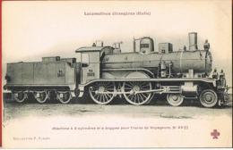 Locomotives étrangères ITALIE-  Machine  à 2 Cylindres Pour Train De Voyageurs N° 23 -Collection FLEURY - Sonstige
