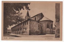 CPA 05 : L.L.26 - EMBRUN - La Cathédrale - L'Abside - Ed. CAP - Embrun