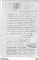 L4A003 France Document De Justice Du  04 06 1771 4 Pages - Manoscritti