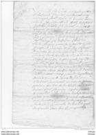 L4A001 France Document Du 02 01 1694 à Déchiffrer - Manoscritti