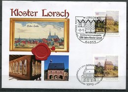 "First Day Cover Germany 2014 Mi.Nr.3050+55 (Bogen/SK) Ersttagsbrief""UNESCO-Welterbe,Kloster Lorsch""1 FDC - UNESCO"