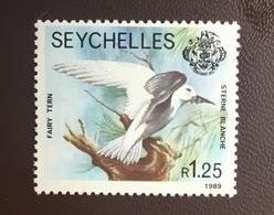 Seychelles 1989 Fairy Tern Birds MNH - Oiseaux