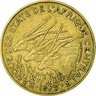Monnaie, États De L'Afrique Centrale, 5 Francs, 1977, Paris, TTB - Cameroun